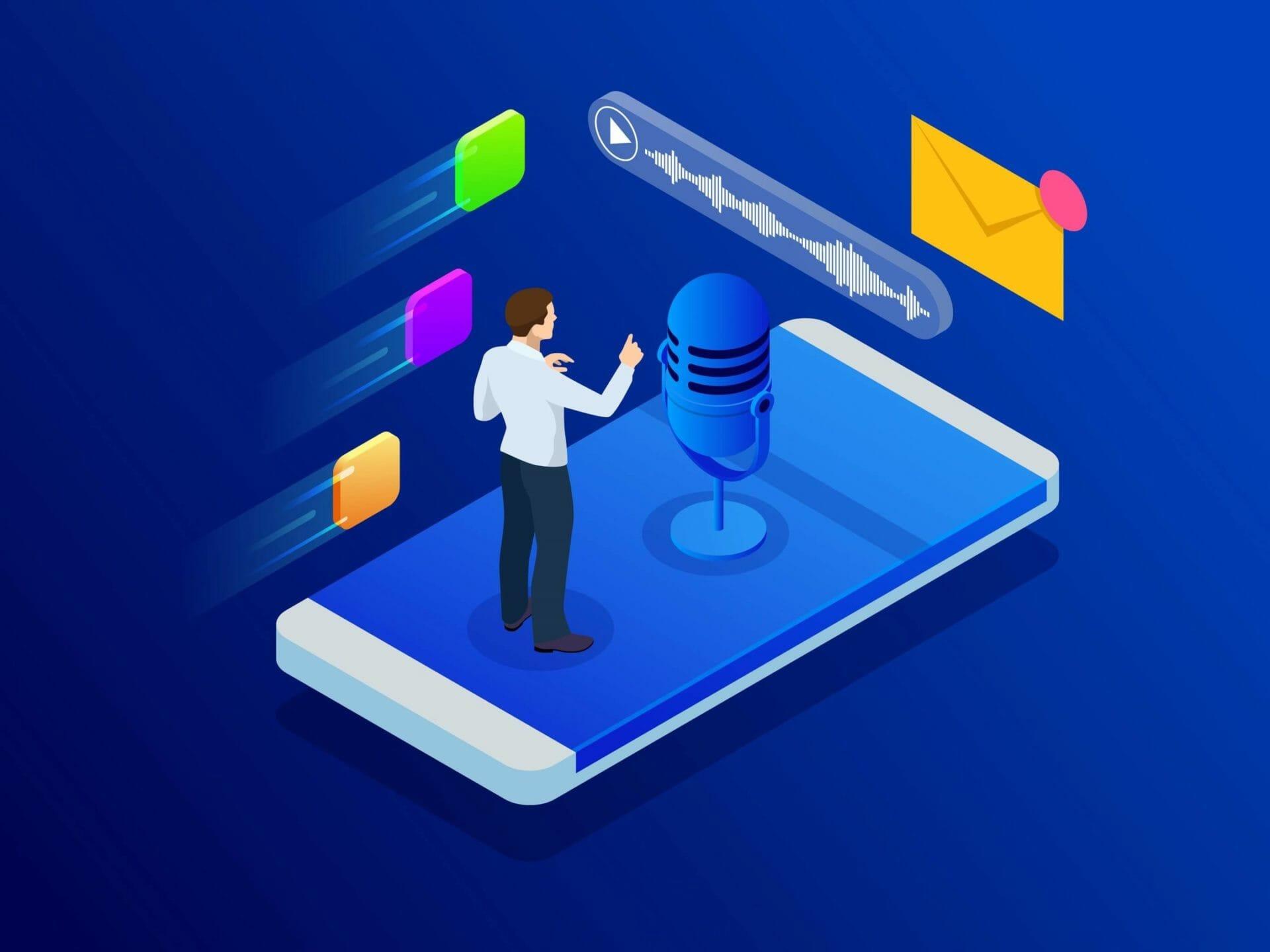 Nutzen der Voice Search für Marketeers
