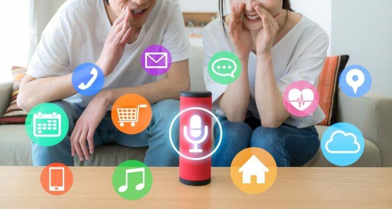 Voice Search Möglichketein